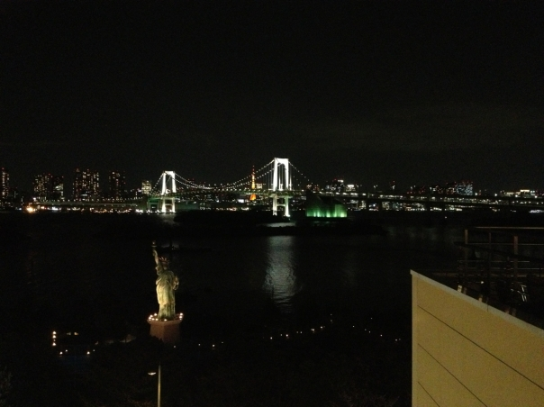 Rainbow Bridge viewed from Odaiba