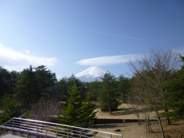 View from Mount Fuji Museum